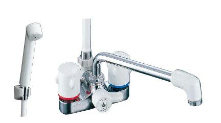【LIXIL】【リクシル】シャワーバス水栓 浴槽・洗い場兼用2ハンドル ミーティス[BF-M606]【INAX】【イナックス】