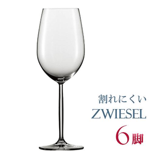 正規品 SCHOTT ZWIESEL DIVA ショット・ツヴィーゼル ディーヴァ 『ボルドー M 6脚セット』ワイングラス セット 赤 白 白ワイン用 赤ワイン用 割れにくい ギフト 種類 ドイツ 海外ブランド 父の日