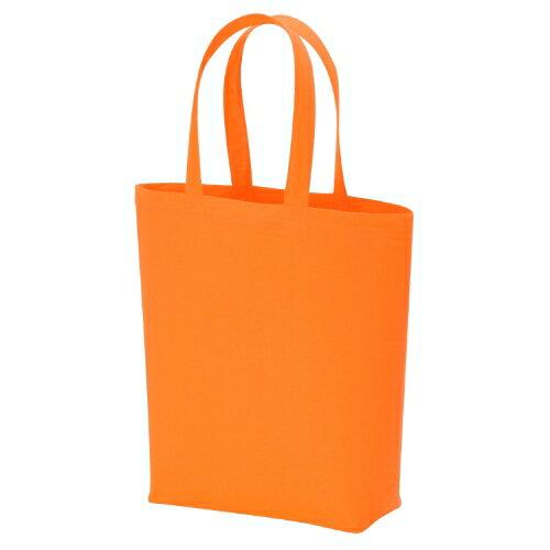 名入れ コットンバッグ(M) オレンジ