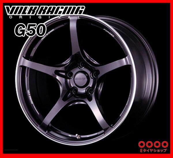 【ホイール1枚】RAYS(レイズ) VOLK RACING G5018×9.5J PCD114/5H +45 ボア径:73.1φカラー:ダークパープルガンメタ/リムエッジDC(GP)【ボルクレーシング G50】