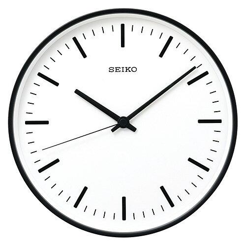 【簡単エントリーでポイント最大19倍!(9/17 10:00~9/20 9:59)】SEIKO ( セイコー ) 「 STANDARD 」 アナログ電波クロック φ310mm / ブラック【送料無料】【P01】【flash】