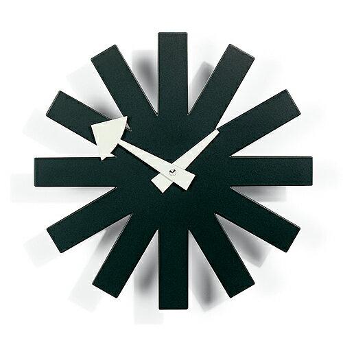 Vitra( ヴィトラ )「 Asterisk Clock  ( アスタリスク クロック )」ブラック【送料無料】【P01】【flash】
