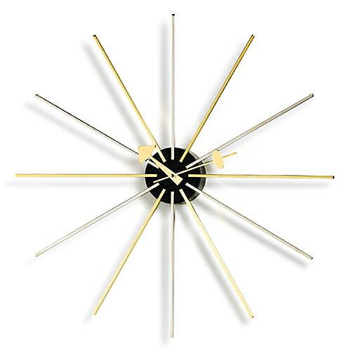 Vitra( ヴィトラ )「 Star Clock( スター クロック )」クローム/ブラス【送料無料】【P01】【flash】