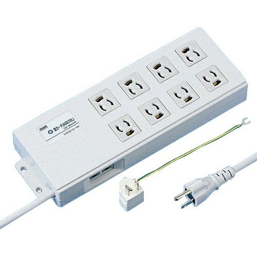 家電 パソコン周辺機器 電源タップ サンワサプライ 雷ガードタップ TAP-3805SPN