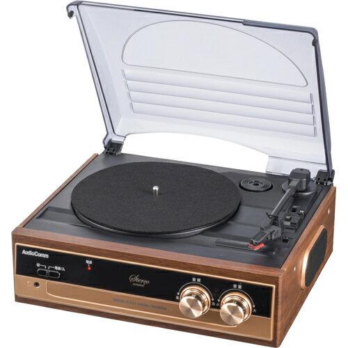 家電 オーディオ機器 コンポ・ラジカセ オーム電機 レコードプレーヤーシステム B200 RDP-B200N