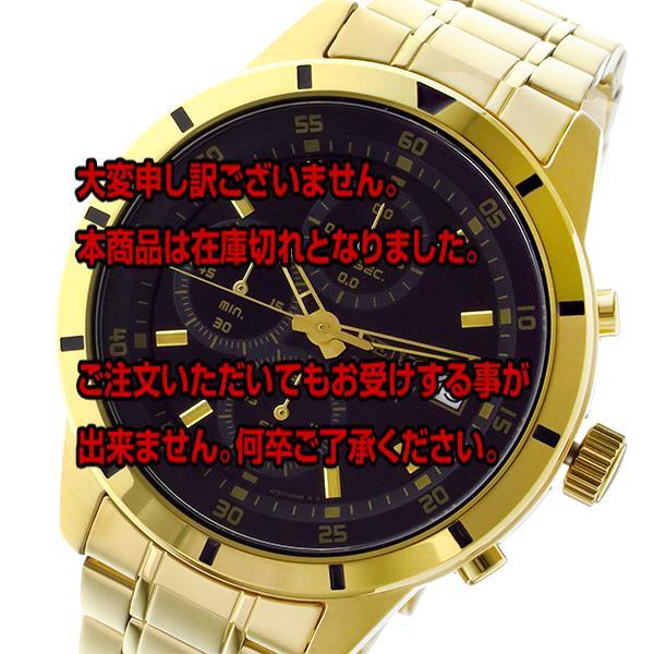5000円以上送料無料 セイコー SEIKO クロノ クオーツ メンズ 腕時計 SKS568P1 ブラック 【腕時計 海外インポート品】 レビュー投稿で次回使える2000円クーポン全員にプレゼント