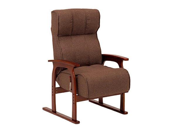 レビュー投稿で次回使える2000円クーポン全員にプレゼント 直送 フロアチェア FLOOR CHAIR 座椅子 LZ-4303BR 【代引不可】 【インテリア 椅子・ソファ】
