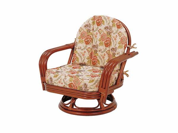 レビュー投稿で次回使える2000円クーポン全員にプレゼント 直送 ラタンチェア RATTAN CHAIR 回転座椅子 RZ-932 【代引不可】 【インテリア 椅子・ソファ】