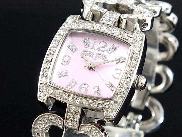 レビュー投稿で次回使える2000円クーポン全員にプレゼント 直送 フォリフォリ FOLLI FOLLIE 腕時計 WF5T120BPP 【腕時計 海外インポート品】