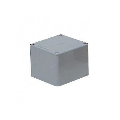 レビュー投稿で次回使える2000円クーポン全員にプレゼント 未来工業 プールボックス 正方形 ノックなし 250×250×150 グレー PVP-2515 【生活家電\他】
