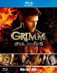 GRIMM/グリム シーズン5 ブルーレイBOX(Blu-ray Disc)