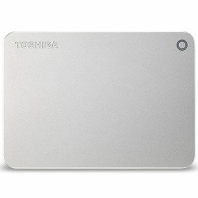 東芝 HD-MB30TS(シルバーメタリック) ポータブルHDD 3TB USB3.0(USB2.0互換) 接続