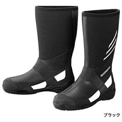 シマノ サーマル・ラジアルブーツW (ワイドタイプ) (FB-018N) ブラック