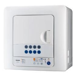【長期保証付】東芝 ED-60C-W(ピュアホワイト) 衣類乾燥機 6kg