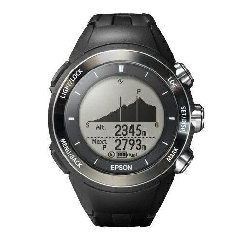 【長期保証付】エプソン MZ-500B(ブラック) WristableGPS for Trek トレッキングギア ユニセックス