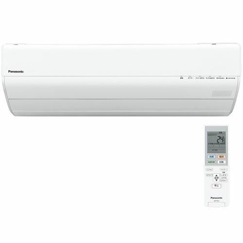 【長期保証付】パナソニック CS-GX407C2-W(クリスタルホワイト) Eolia(エオリア) GXシリーズ 14畳 電源200V