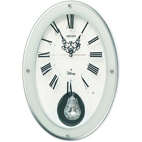 SEIKO FS508W 大人ディズニー 電波掛け時計