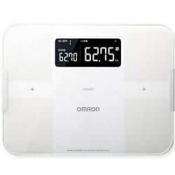 【長期保証付】オムロン HBF-255T-W(ホワイト) 体重体組成計 カラダスキャン