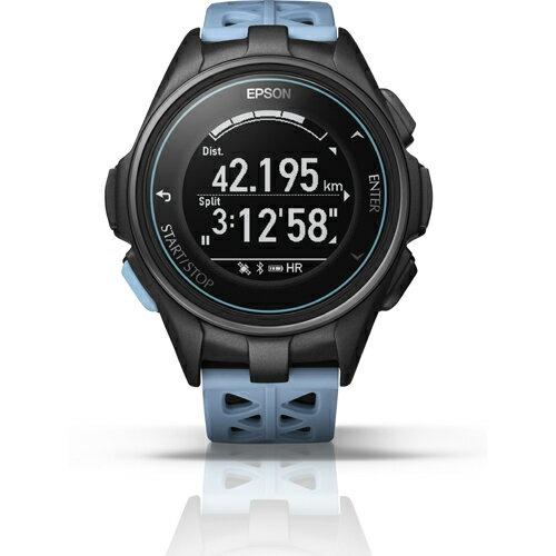 【長期保証付】エプソン J-300T(ターコイズブルー) Wristable GPS 腕時計タイプ