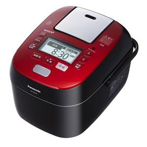 ��料無料】PANASONIC パナソニック W��り炊� ス�ーム&�変圧力IHジャー炊飯器 5.5�炊� SR-SPX105(RK-ルージュブラック)SRSPX105-RK