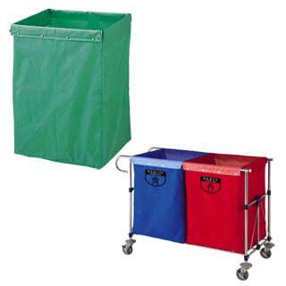 リサイクル用システムカート専用収納袋 180L レッド 【 メーカー直送/代引不可 】 【 清掃用ワゴン ダストカー ダストボックス ゴミ箱 】