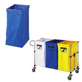 リサイクル用システムカート専用収納袋 120L ブラウン 【 メーカー直送/代引不可 】 【 清掃用ワゴン ダストカー ダストボックス ゴミ箱 】