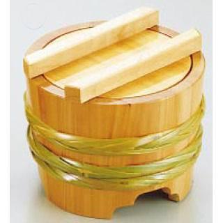 サワラ 釜揚桶 [大] 【 業務用 【 そば うどん用品 盛桶 】