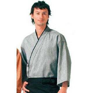 【業務用】作務衣(男女兼用)KJ0010-2 灰色 S
