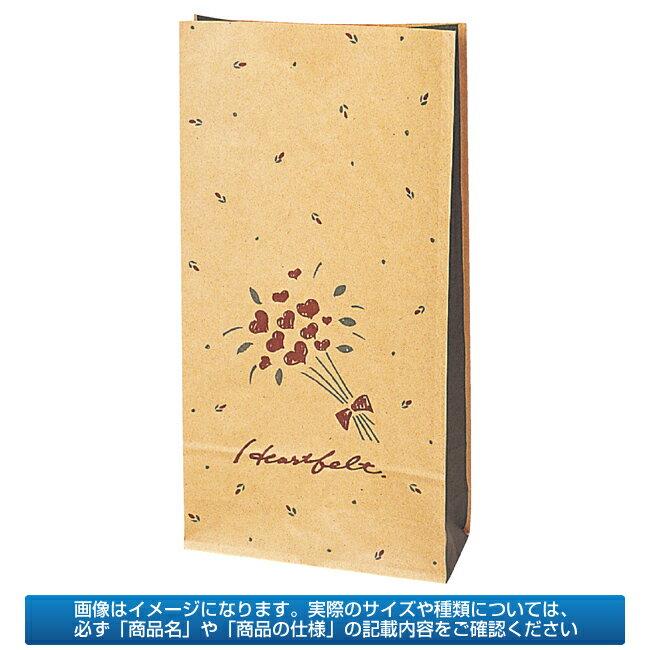 【業務用】紙袋 洋品袋 ハートフェルト 16.5×6.5cm 1500枚【 送料無料 】