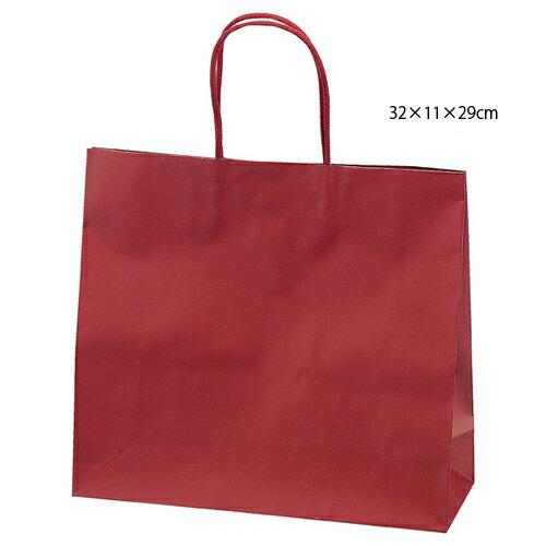 マットバッグ ワイン 32×11×29 100枚【店舗備品 包装紙 ラッピング 袋 ディスプレー店舗】【ECJ】