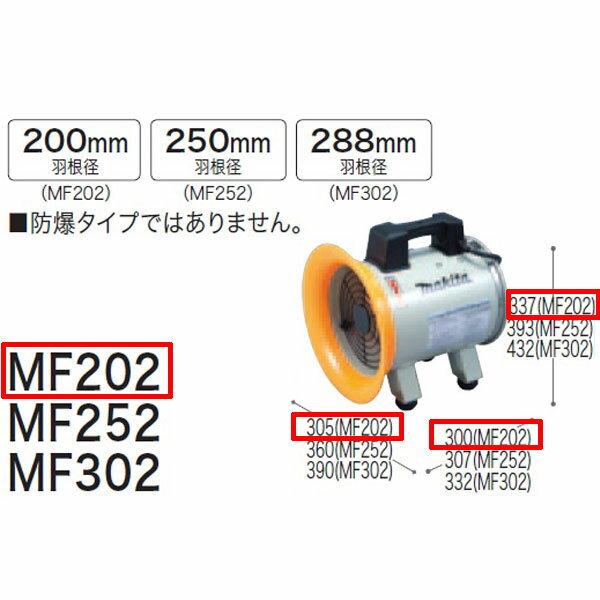 【業務用】【 マキタ 電動工具 】 送排風機 MF202  【 DIY 作業用 工具 プロ 愛用 】