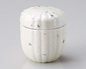 【まとめ買い10個セット品】和食器 ホ105-286 ラスター点紋菊型むし碗 【キャンセル/返品不可】【ECJ】