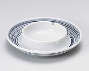 【まとめ買い10個セット品】和食器 オ418-276 フジ渦6.0灰皿 【キャンセル/返品不可】【ECJ】