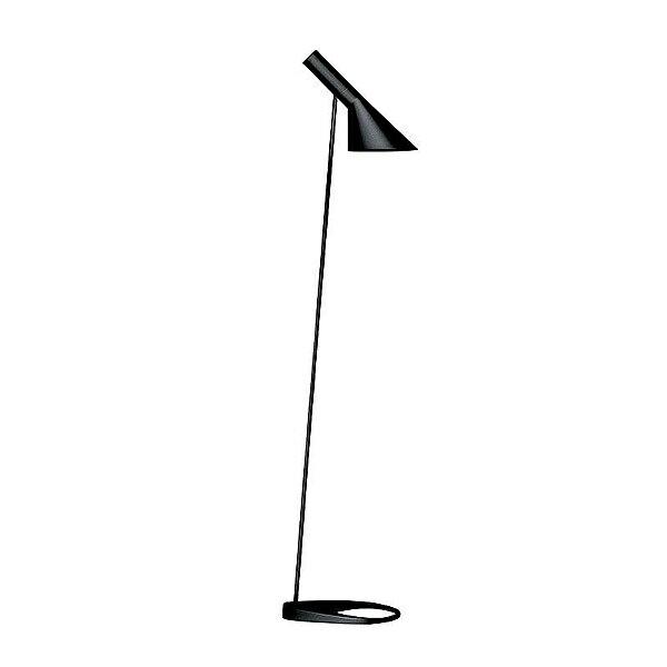 「AJ Floor」ブラック(黒)LouisPoulsen(ルイスポールセン) フロアランプ●デンマークを代表する建築家アルネ・ヤコブセンデザイン[フロアスタンド/北欧照明/デザイナーズ/輸入]【AJ Floor Black】