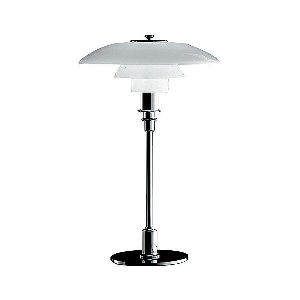 LouisPoulsen(ルイスポールセン)「PH3/2Table」シルバー/ガラス[テーブルスタンド/北欧照明/デザイナーズ/輸入]【PH 3/2 Table Chrome】