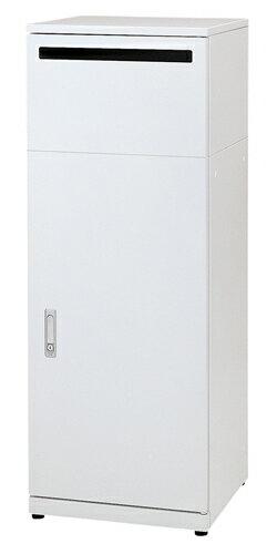 株ぶんぶく 屋内用ゴミ箱リサイクルステーション 機密書類タイプ ネオホワイト(塗装)  OSE-R-4
