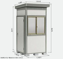 ヨドコウ ヨド物置 蔵MD豪雪型合板床タイプDZBU-1111HW [収納庫/収納/屋外収納庫/屋外/倉庫/激安/安い/価格/小屋/ガーデニング/庭/よど/よど物置/ものおき/物置き]