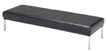 ロビー用ベンチ MC-425 幅1500×奥行き610×座の高さ370mm【MC-425】