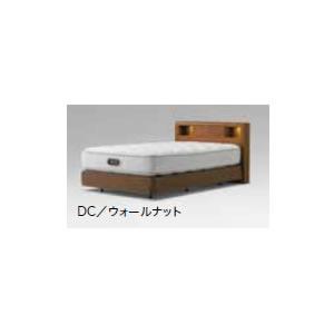 機能的で大活躍 シモンズ ベッド/アーグシェルフII DCダブルクッションタイプ(セミダブルサイズ) ヘッドボード+ボックスプリングのみ マットレス別【DC-AURGSHELF-SDF】