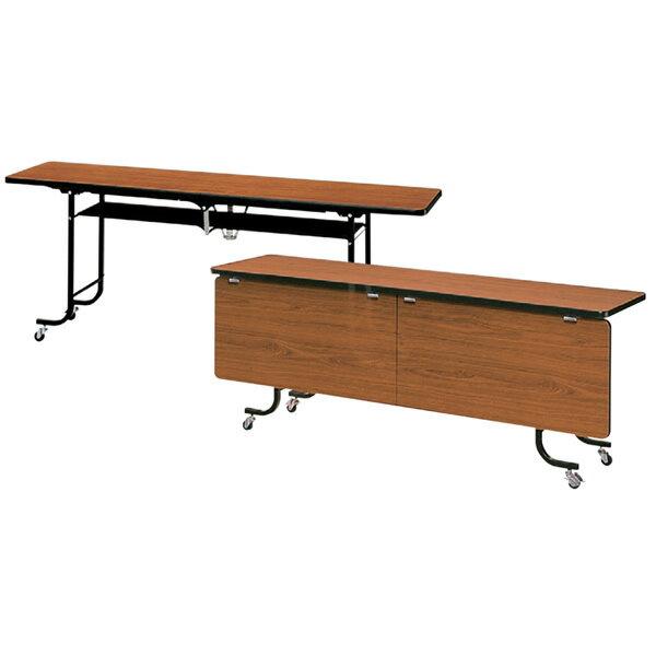 会議 ミーティングテーブル HAEシリーズ 折りたたみ可動式 幕板なし (06082)【HAE-620】