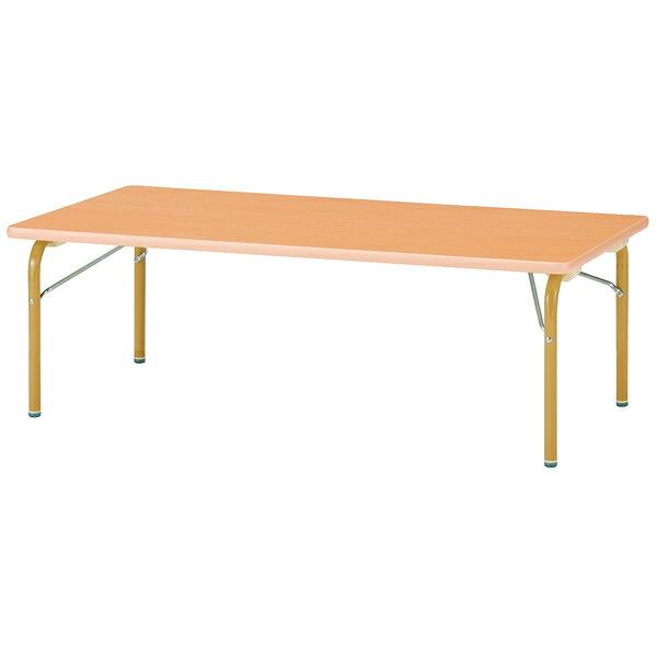 キッズテーブル(角形) 幅900mm×奥行450mm×高さ380mm【JRK-0945L】