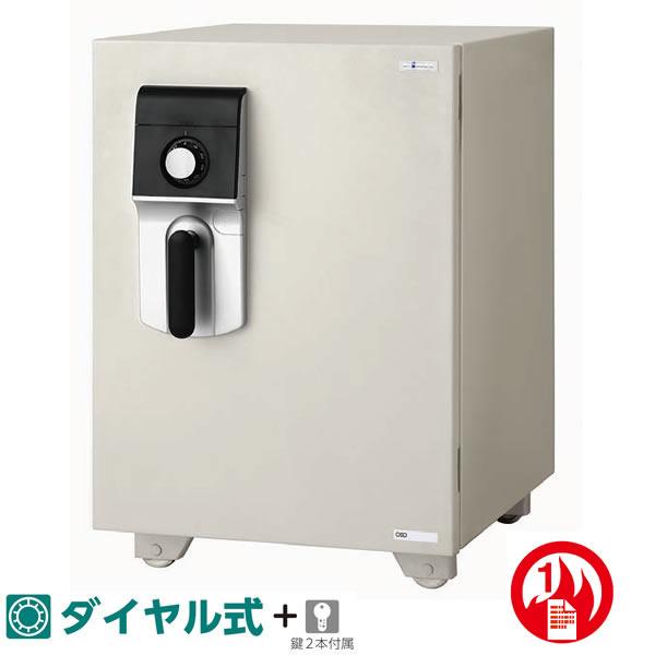 マイスターシリーズ 耐火金庫 ダイヤル式+内蔵シリンダー錠 51.5リットル【EIKO-OSD-D】