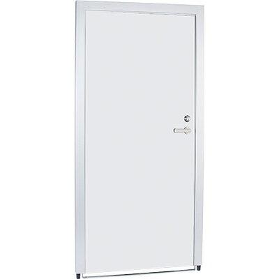間仕切り パネルPF ドア右PF-D18RW ドアパネル 右開き 白 鍵付き ミーティングスペース プロジェクトルーム【GARA-415871】