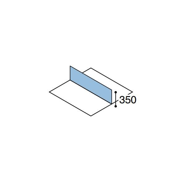ワークフィット オプション デスクトップパネル 両面用 幅1200mm【SDV-WF123】