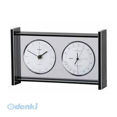 「直送」【代引不可・同梱不可】[EX-792]  EMPEX スーパーEX ギャラリー温度・湿度・時計  シルバー