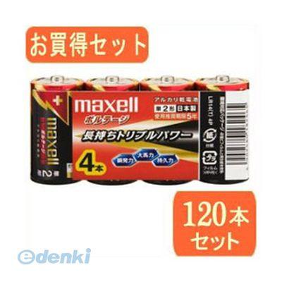 「直送」【代引不可・同梱不可】[LR14(T) 4PX30]  maxell maxell【マクセル】単2形アルカリ乾電池ボルテージ 4本パック LR14【T】 4Px30パック LR14【T】 4PX30