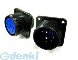 DDK(第一電子工業) [D/MS3102A28-6P(D264)] MIL-DTL-5015 MSタイプ丸形コネクタ バヨネットロック式 (5個入) D/MS3102A286PD264