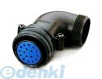 DDK(第一電子工業) [D/MS3108B32-9S] MSタイプ丸形コネクタ L型プラグ(分割シェル)D/MS3108Bシリーズ (5個入) D/MS3108B329S