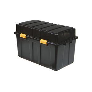 直送・代引不可サンカ 頑丈箱(工具箱) ブラック 45.5×49cm TKJ-114 1個別商品の同時注文不可