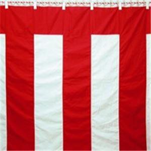 直送・代引不可八光舎 紅白幕 5間物 180×900cm別商品の同時注文不可